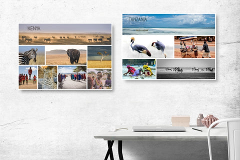 Travel Collage - Custom Canvas Prints - afterimage.canvas