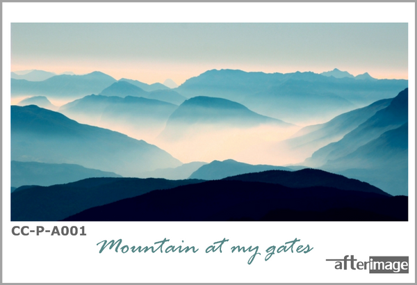 """Mountain at my gates"" - Landscape Printed Canvas set - afterimage.canvas"
