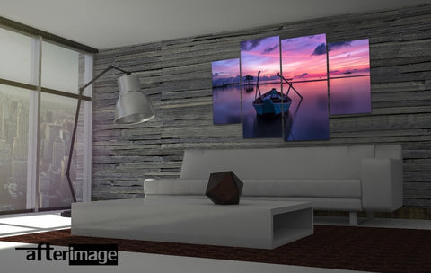 """Dreamer"" - Seascape Printed Canvas set - afterimage.canvas"
