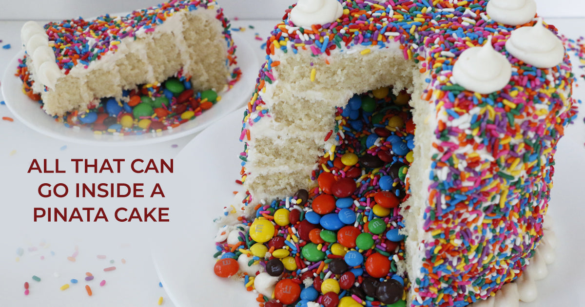 All That Can Go Inside a Pinata Cake