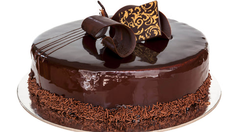 Chocolate-Cake-with-Chocolate-Layer-On-Top