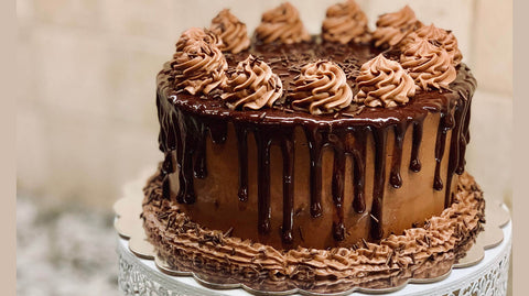 Round-shape-Chocolate-Cake
