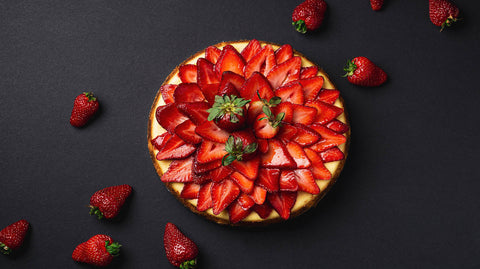 Strawberry-Cake-Round-Shape