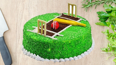 cricket-theme-design-cake