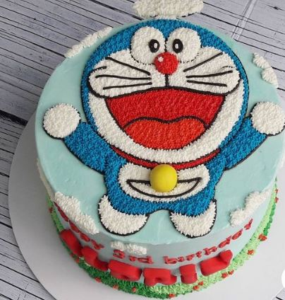 Doremon Cake order online with cake plaza