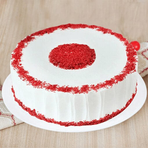 round-red-velvet-eggless-cake
