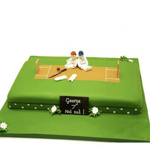rectangle-shape-cricket-pitch-theme-cake