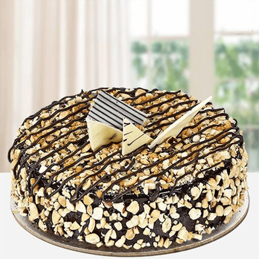 crunchy-choco-cake-with-nuts-layered-on-it
