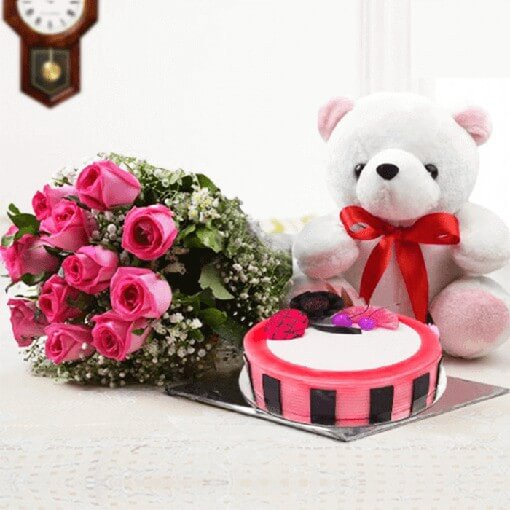 roses-bouquet-with-teddy-bear