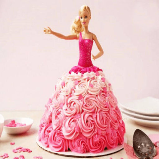 pink-Barbie-standing-doll-cake