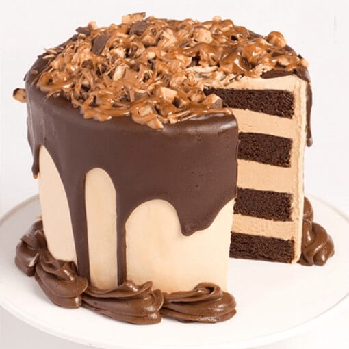 chocolate-round-shape-cake
