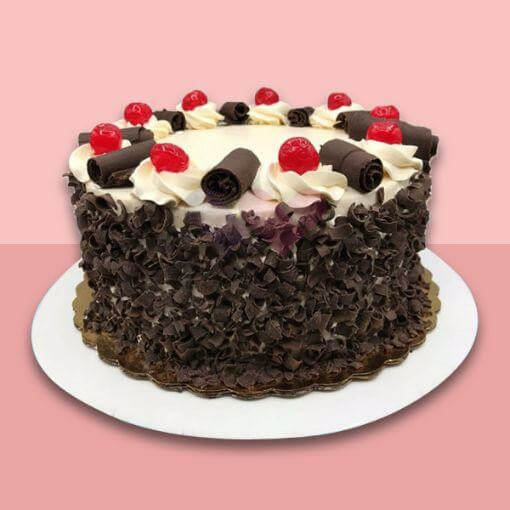 Black Chocolaty Forest Cake