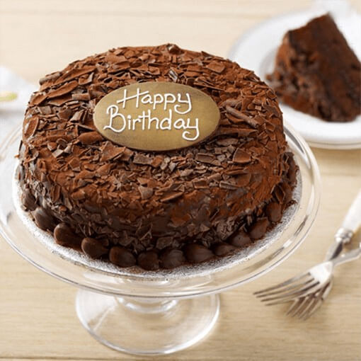 round-shape-birthday-coffee-cake