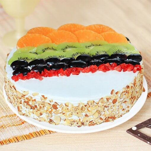 delicious-fruit-cake-round-shape