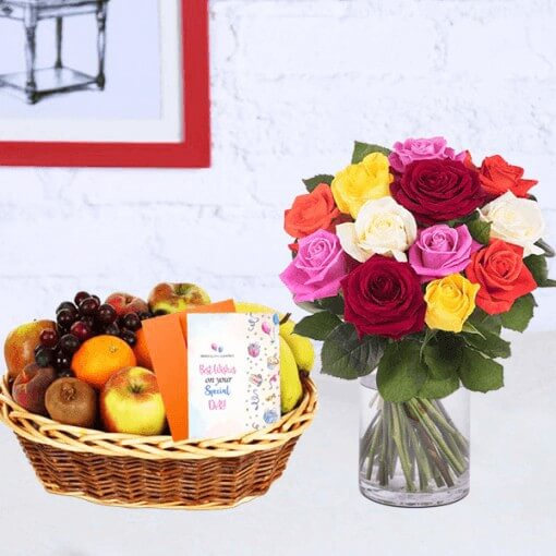 mix-roses-vase-with-fruit-basket-cake-plaza