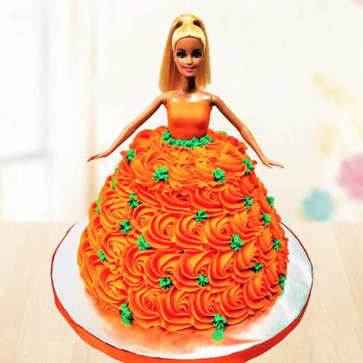 orange-gown-barbie-cake-plaza