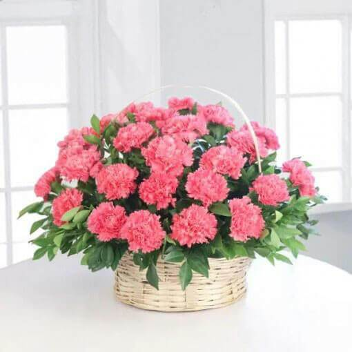 pink-carnation-basket-cake-plaza