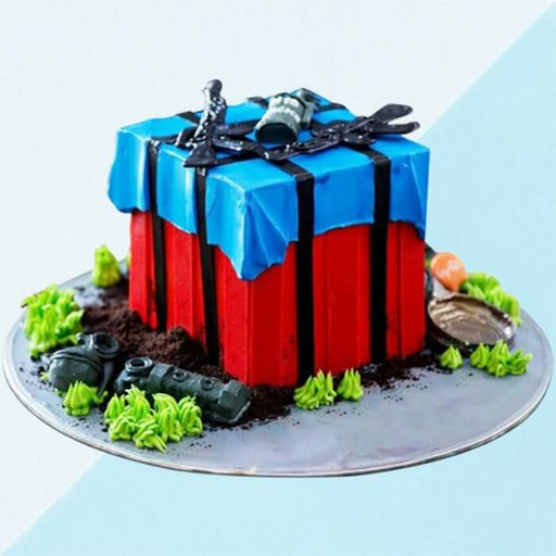 red-box-chocolate-pubg-cake