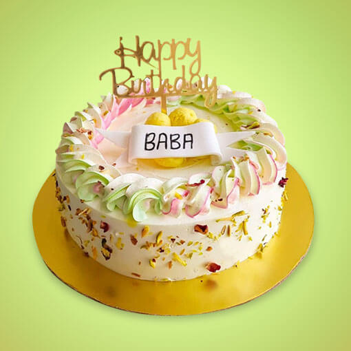 Rasmalai Cake for Birthday