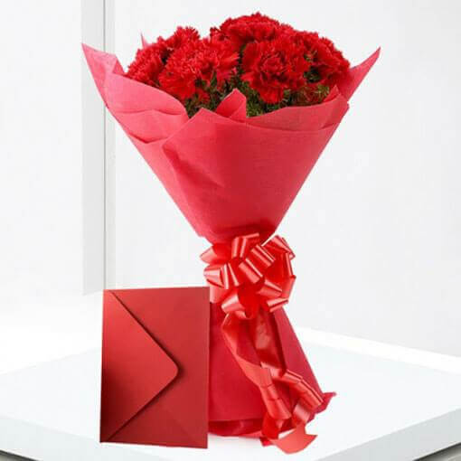 red-carnation-with-greeting-card-cake-plaza