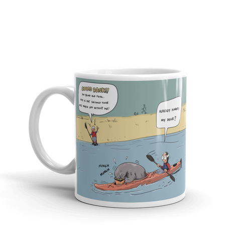 Blind Sea kayaker – Coffee Mug