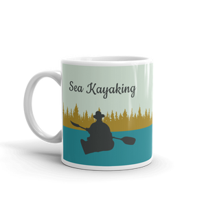 Sea kayaking Mug - World's Best Paddle Buddy