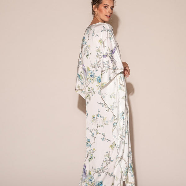 Wrap Up - Caftan long - Blue By You