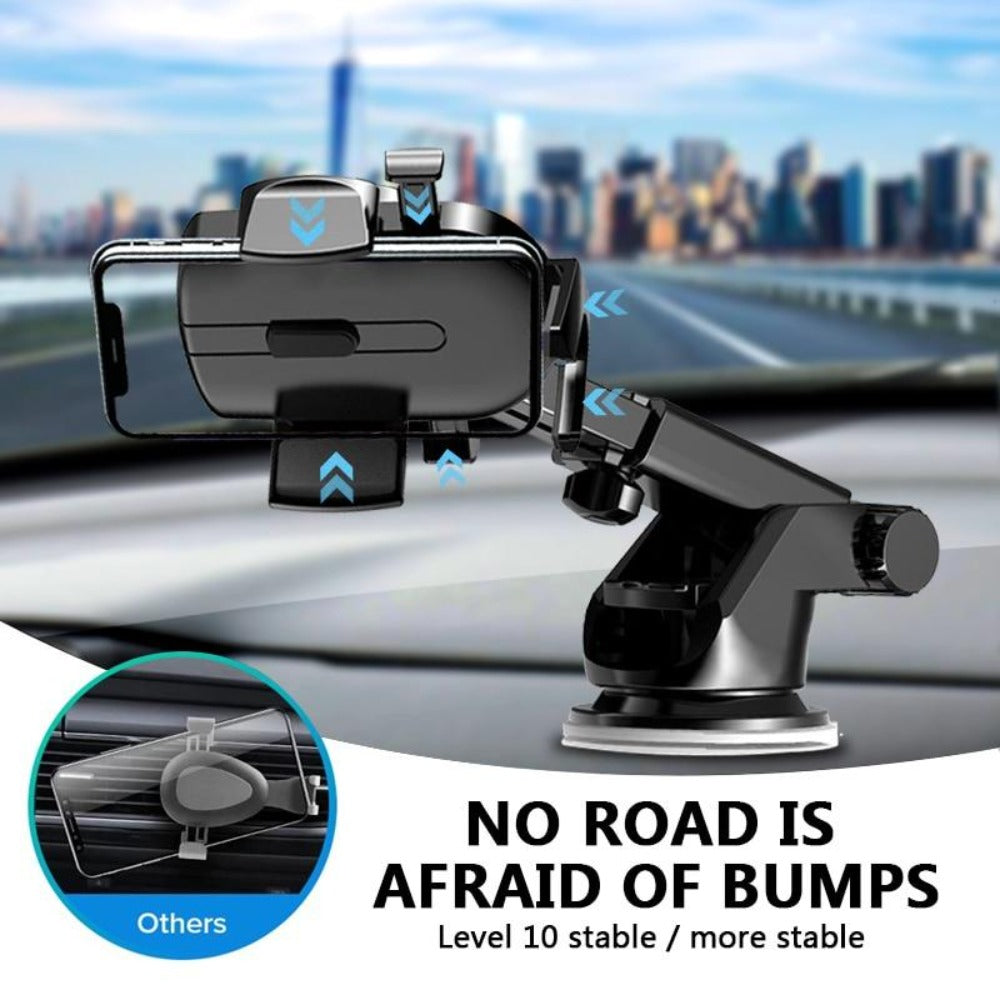 Car Phone Holder Mobile Phone Windshield Car Luxury Phone Stand