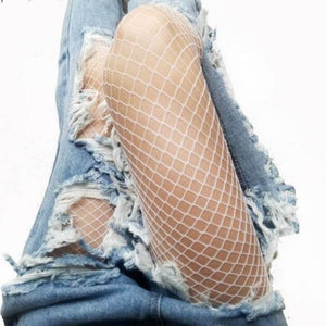 EveryDay.Discount Women Stockings Fishnet Club Tights Panty Knitting Net Pantyhose