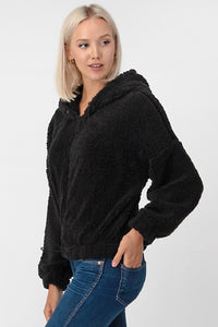 Fuzzy Full Zip