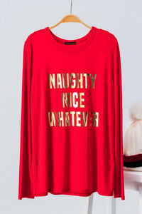 Naughty Nice Whatever