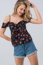 Two Way Roses Top