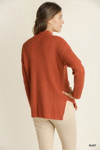 Pumpkin Spice Choker Sweater