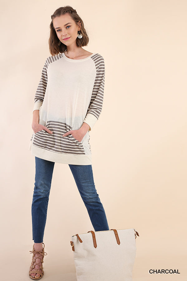 Lightweight Striped Top