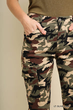 Camo Skinnys with Side Ankle Zip