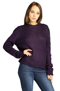 Purple Soft Sweater