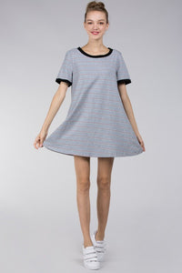 Tomboy T-Shirt Stripe Dress