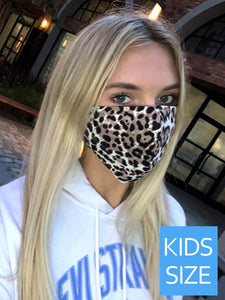 Kids Cheetah Face Mask