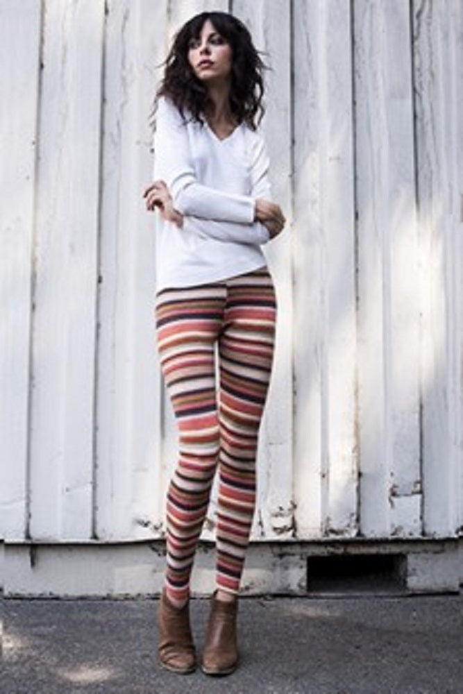Stretched Printed Leggings