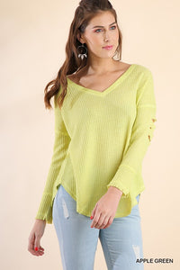 Neon Apple Green Lightweight Thermal