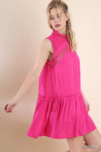 Shake It Up Hot Pink Tunic Dress