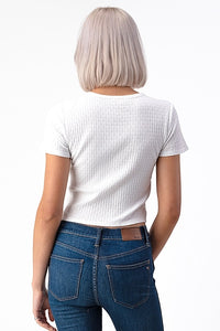 Short Sleeve Crop Top