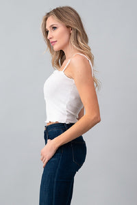 Spaghetti Strap Crop Top
