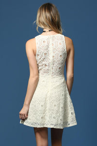 Grace & Lace Ivory Dress