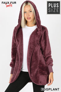 Eggplant So Soft Jacket