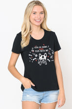 Stay at Home Pup Plus Graphic Tee