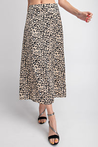 Summer Lovin Leopard Skirt