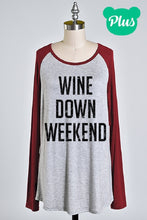 Booze Baseball Tee- Wine or Tequila