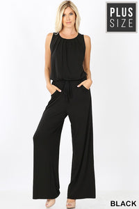 Plus Jumpsuit with Pockets