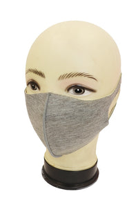 Thick Protective Mask- Black or Grey